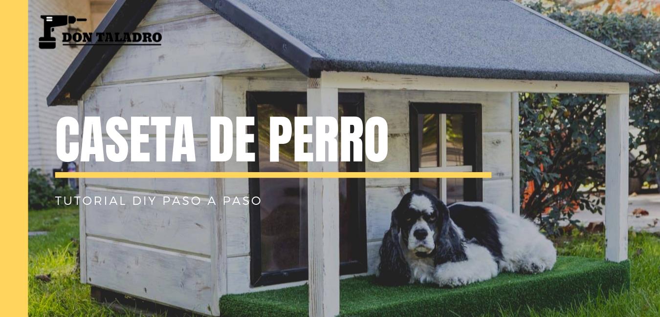 como hacer una casa para perro con tarimas