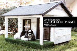 Construye una caseta de perro siguiendo el sencillo tutorial