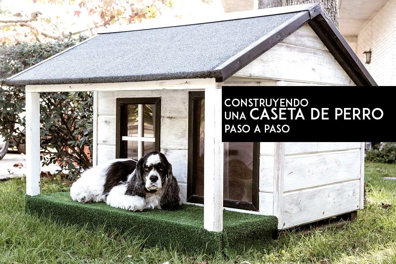 Cómo hacer una caseta de perro con palets