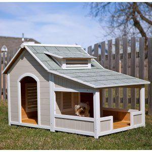 caseta de perro con palets