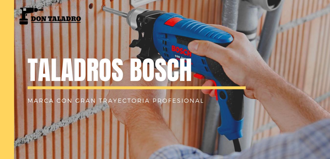 modelos de taladros Bosch
