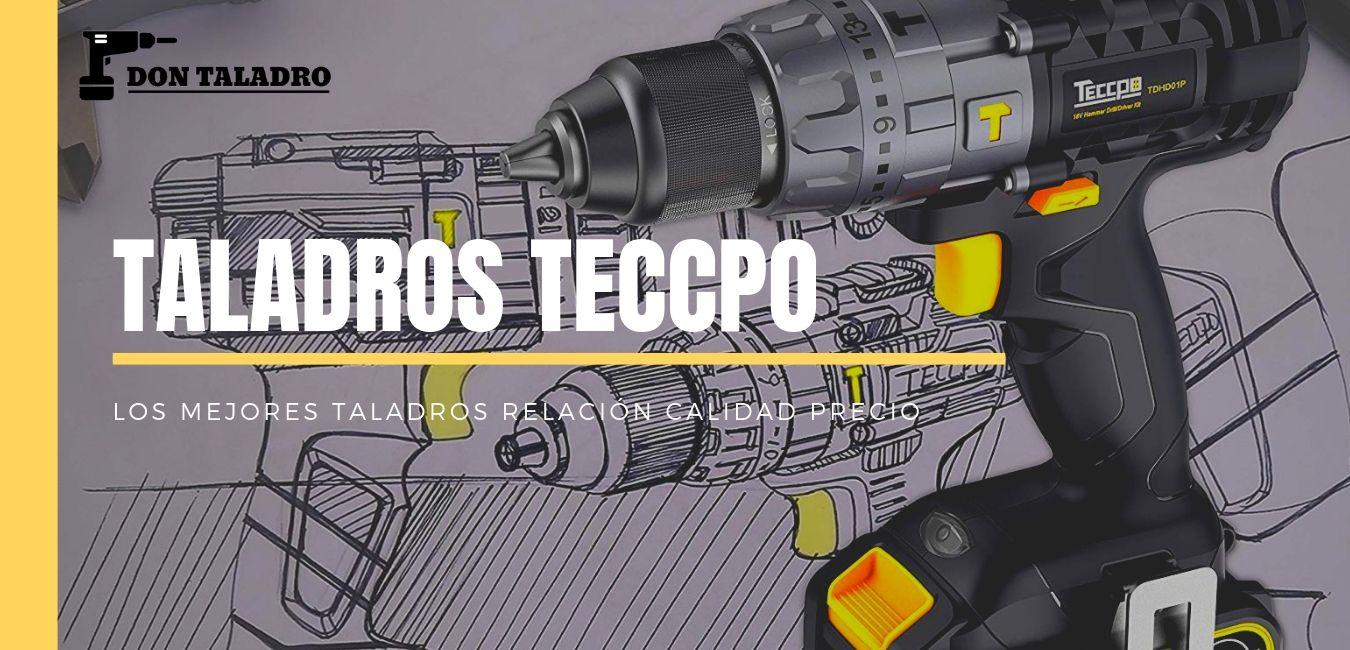 Taladros y atornilladores de la marca Teccpo, review, pros, contras y opiniones