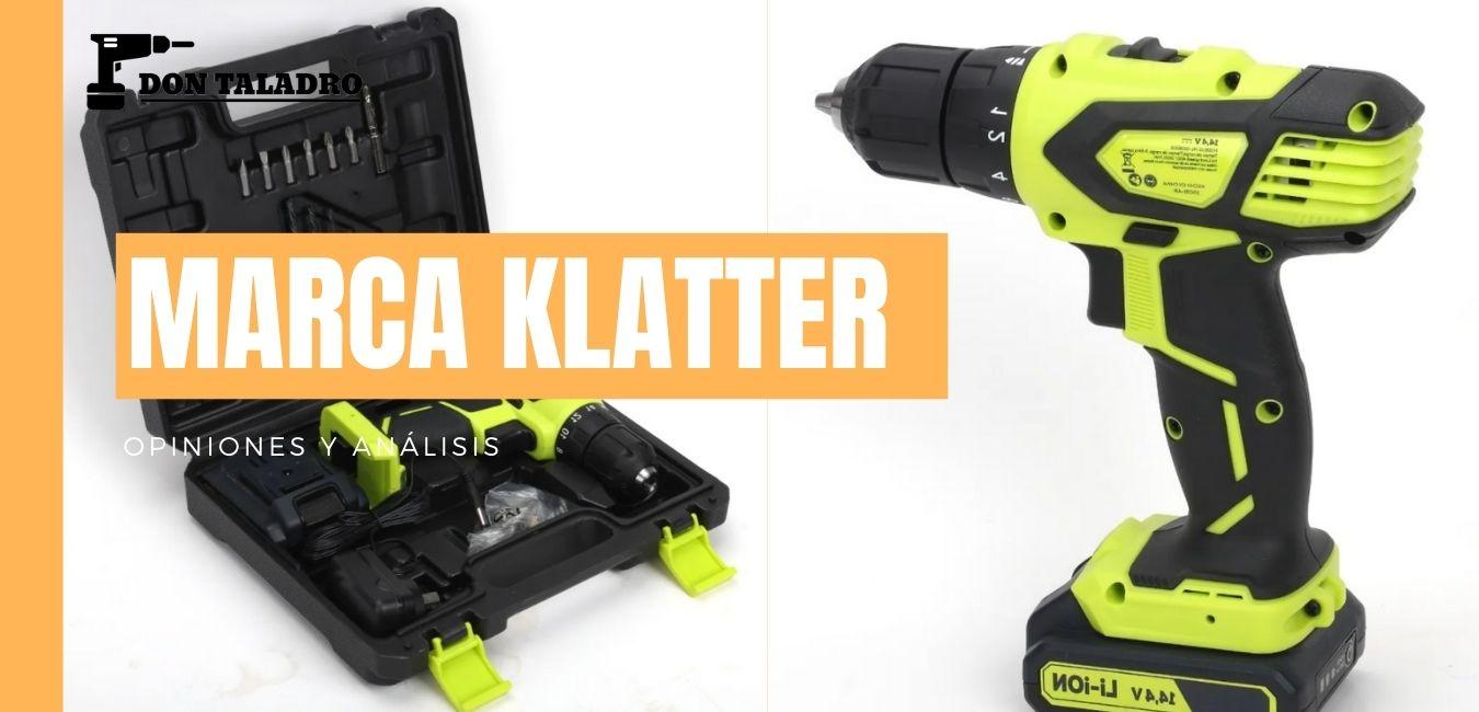 Todo sobre la nueva marca de herramientas KLATTER