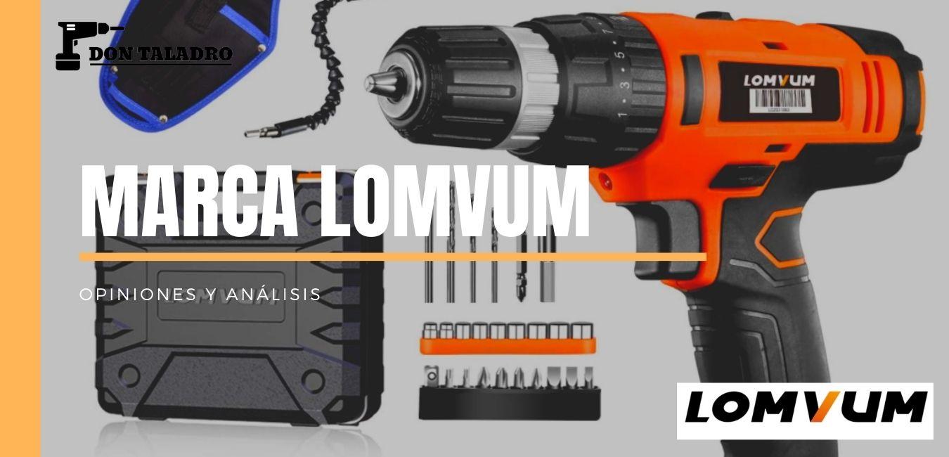 Secreto de la marca LOMVUM de herramientas y taladros