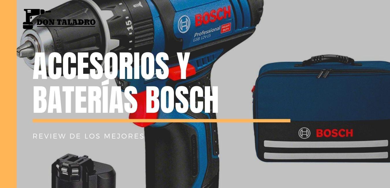 Accesorios y baterías BOSCH