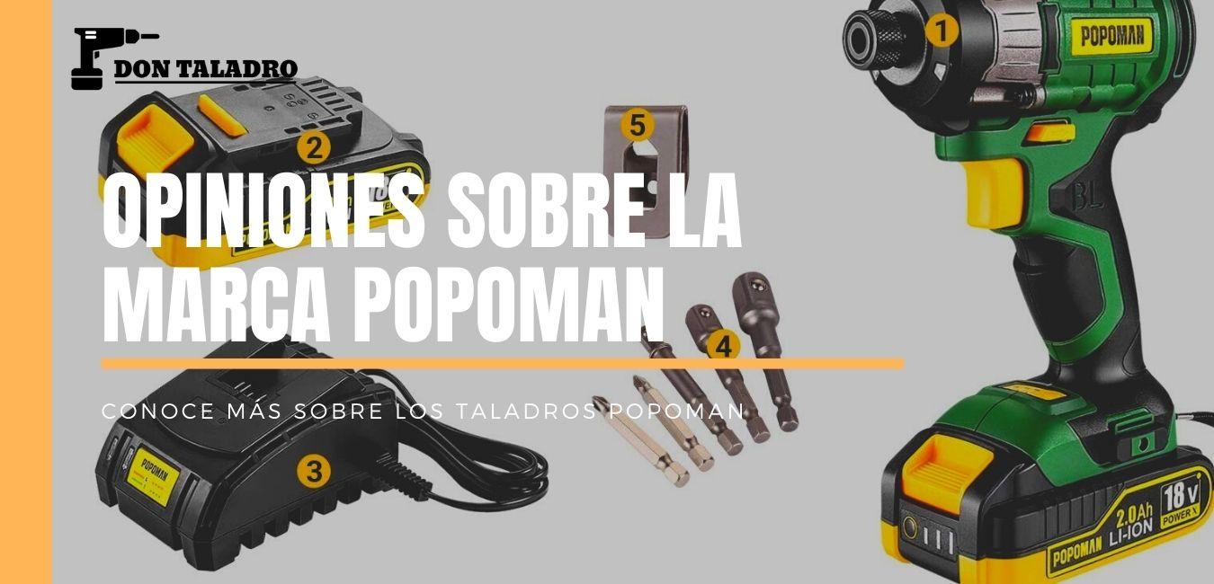 review y opiniones de la marca popoman de taladros y atornilladores